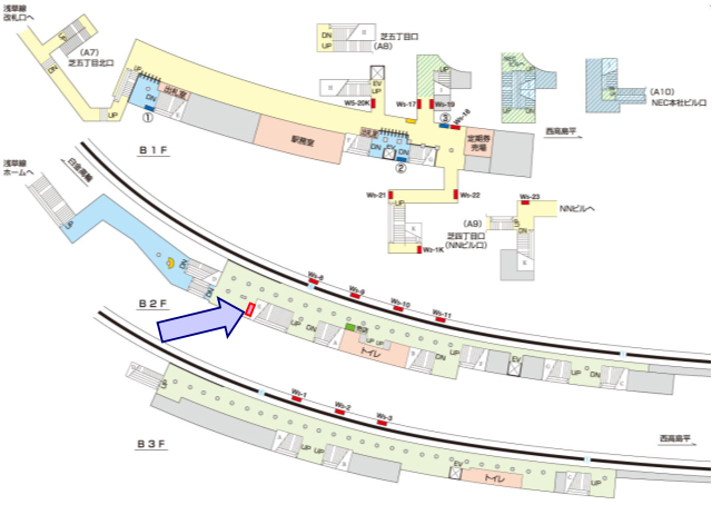 三田駅媒体画像