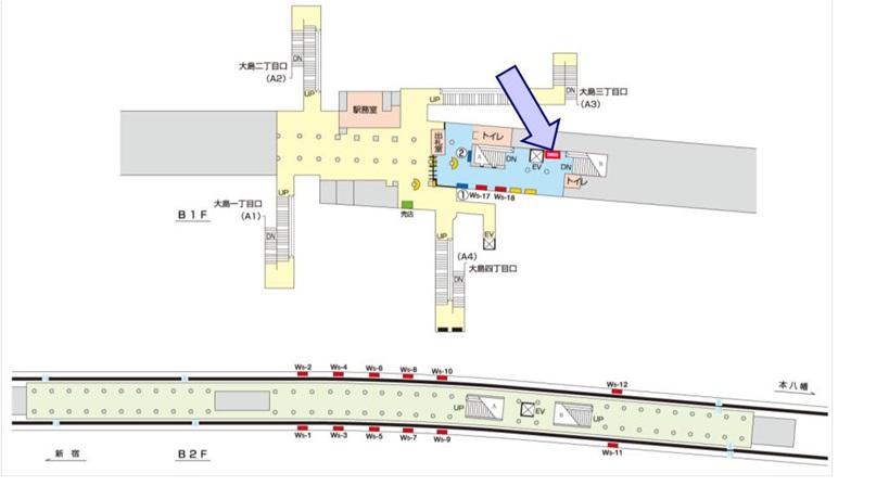 西大島駅媒体画像