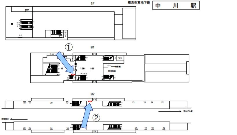中川駅媒体画像