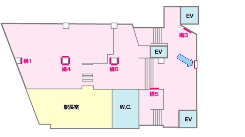江戸川駅媒体画像