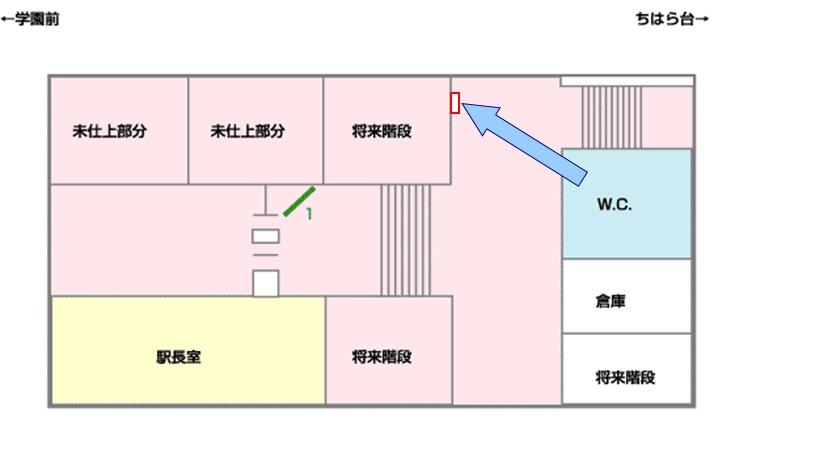 おゆみ野駅媒体画像