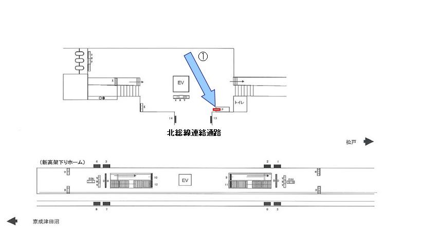 新鎌ヶ谷駅※媒体画像